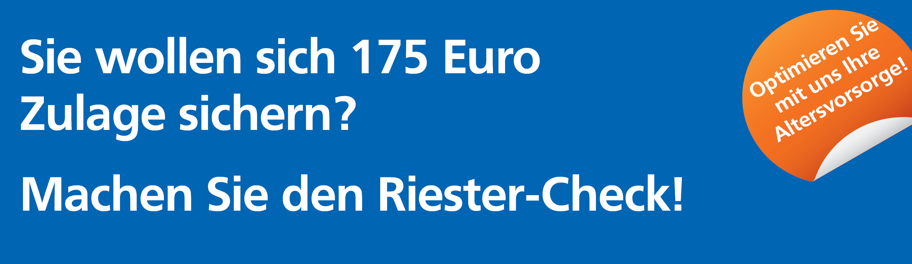 Riester-Check
